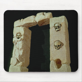 Doorway with Skulls Mouse Pad