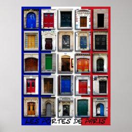 Doorways of Paris Poster