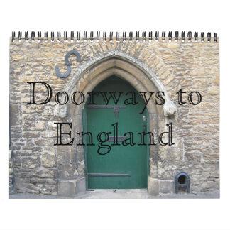 Doorways to England Calendar