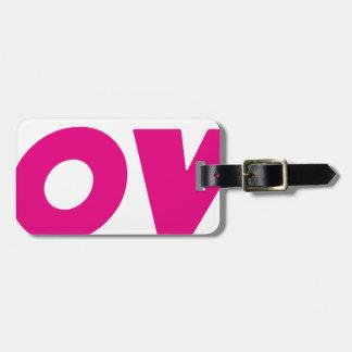 DOOVDE DVD Player Fonejacker Bag Tag
