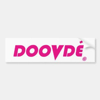 DOOVDE DVD Player Fonejacker Bumper Sticker