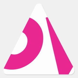 DOOVDE DVD Player Fonejacker Triangle Sticker
