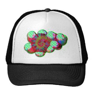 Dopamine molecule psychedelic hat
