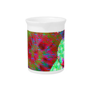Dopamine molecule psychedelic drink pitcher