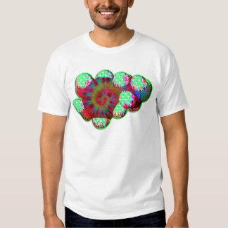 Dopamine molecule psychedelic t-shirt