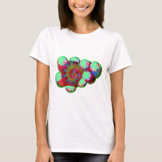 Dopamine molecule psychedelic T-Shirt