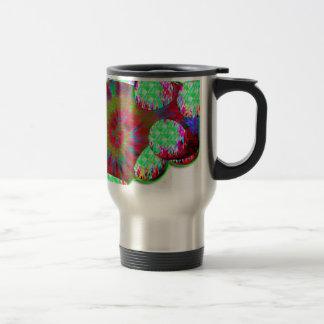 Dopamine molecule travel mug