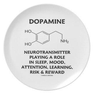 Dopamine Neurotransmitter (Chemical Molecule) Plates