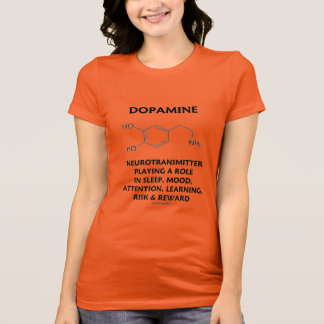 Dopamine Neurotransmitter (Chemical Molecule) T-Shirt