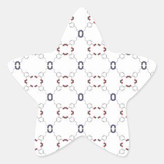 Dopamine Pattern Star Sticker