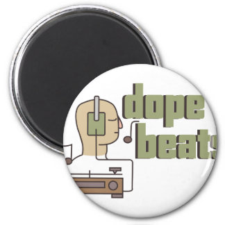 Dope Beats 2 Inch Round Magnet