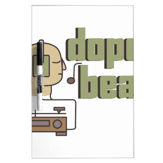 Dope Beats Dry-Erase Board
