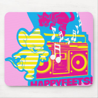 Dope Beats Happy Feets Mouse Pad