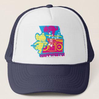 Dope Beats Happy Feets Trucker Hat