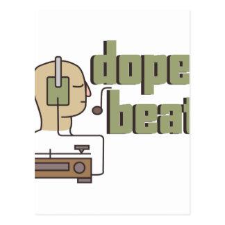 Dope Beats Postcard