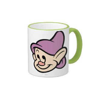 Dopey 1 ringer coffee mug