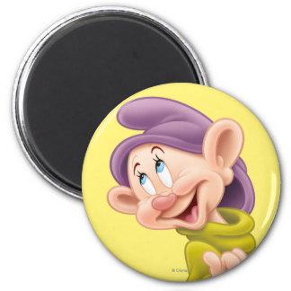 Dopey 3 2 inch round magnet
