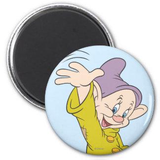 Dopey 4 2 inch round magnet
