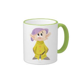 Dopey 5 ringer coffee mug