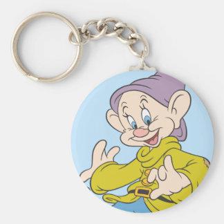 Dopey Dancing Keychain