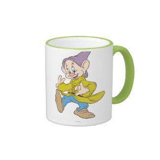 Dopey Dancing Ringer Coffee Mug