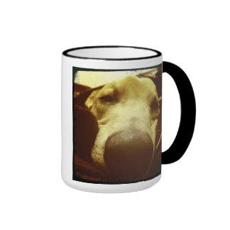 Dopey Dog Ringer Mug