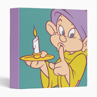 Dopey Holding a Candle Binder