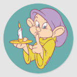 Dopey Holding a Candle Sticker