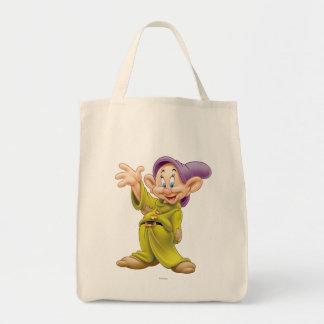 Dopey Waving Grocery Tote Bag