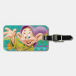 Dopey Waving Luggage Tags