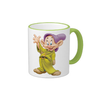 Dopey Waving Ringer Coffee Mug