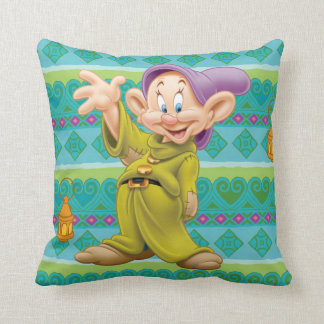 Dopey Waving Throw Pillow