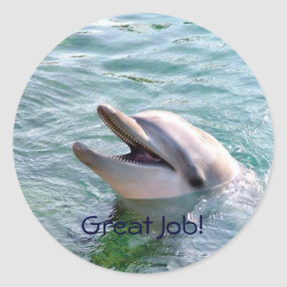 Dophin School Binder Teacher Reward Sticker