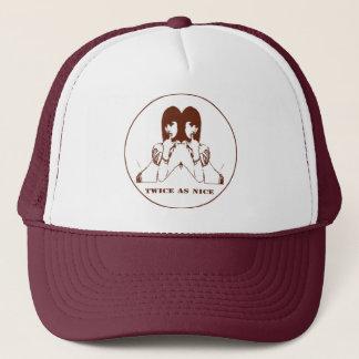 doppelladyhat trucker hat
