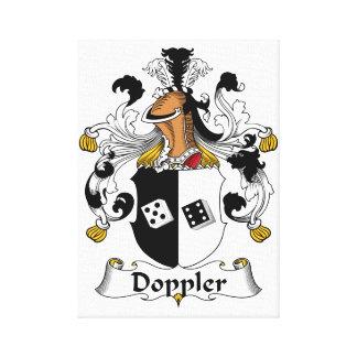 Doppler Family Crest Canvas Print