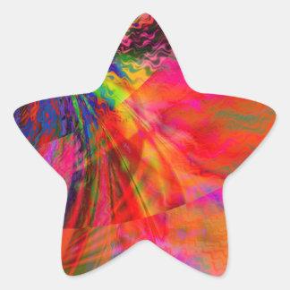 Doppler Star Stickers