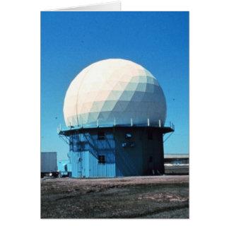 Doppler Weather Radar Station - Norman Greeting Card