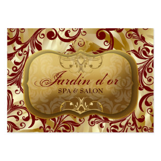 d'or 311-Jardin con la tarjeta roja de la cita de Tarjetas De Visita Grandes