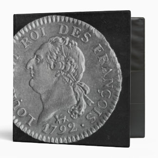"""D'or de Louis que representa a Louis XVI, 1792 Carpeta 1 1/2"""""""