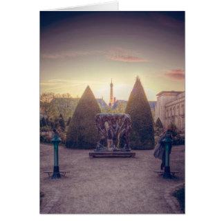 D'or del l'heure del à de Rodin jardin du musée Tarjetón