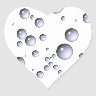 Dora burbujea ~ que sopla 01 calcomanías de corazones personalizadas