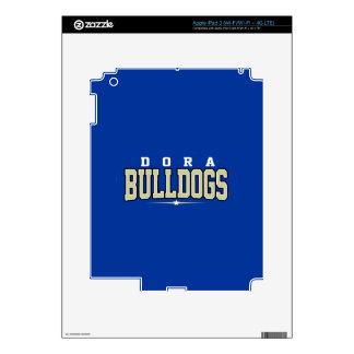Dora High School; Bulldogs Skins For iPad 3