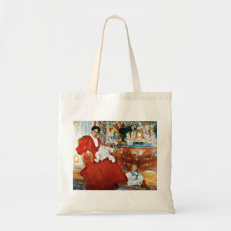 Dora Lamm and Her Sons Budget Tote Bag