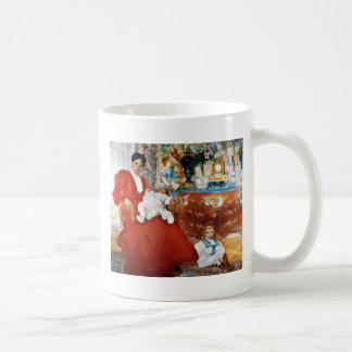 Dora Lamm con los niños Tazas De Café
