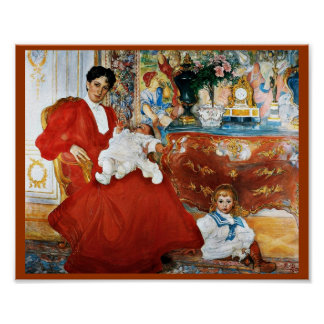 Dora Lamm y sus hijos Póster