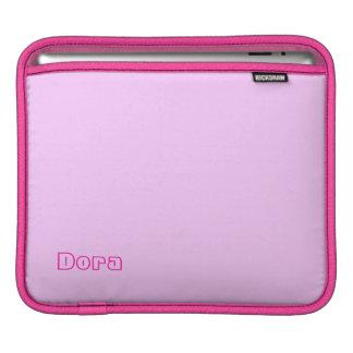 Dora Pink iPad sleeve