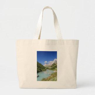Dora stream, Veny Valley, Italy Canvas Bag