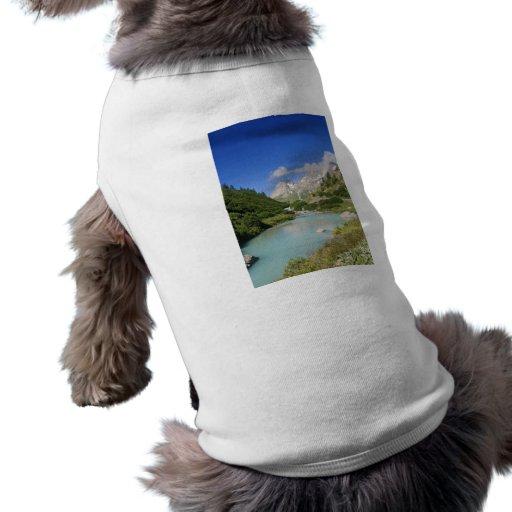 Dora stream, Veny Valley, Italy Pet T Shirt