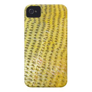 Dorado de oro - cubierta de Iphone de la piel de iPhone 4 Case-Mate Cárcasas