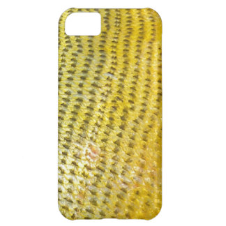 Dorado de oro - cubierta de Iphone de la piel de l Funda Para iPhone 5C